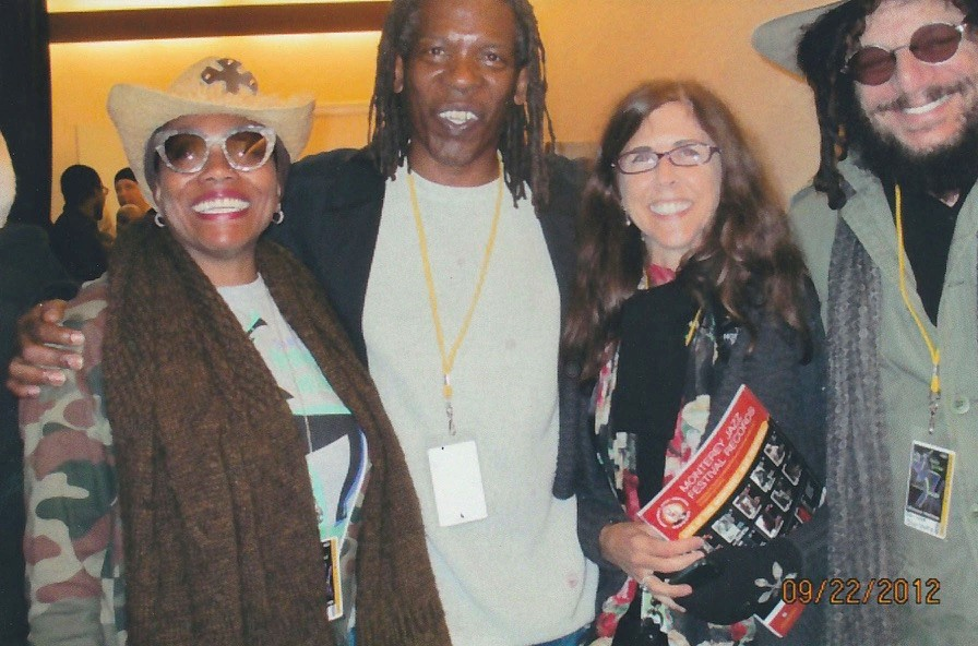 Dee Dee Bridgewater with Mark and Susan Kennedy and Don Was