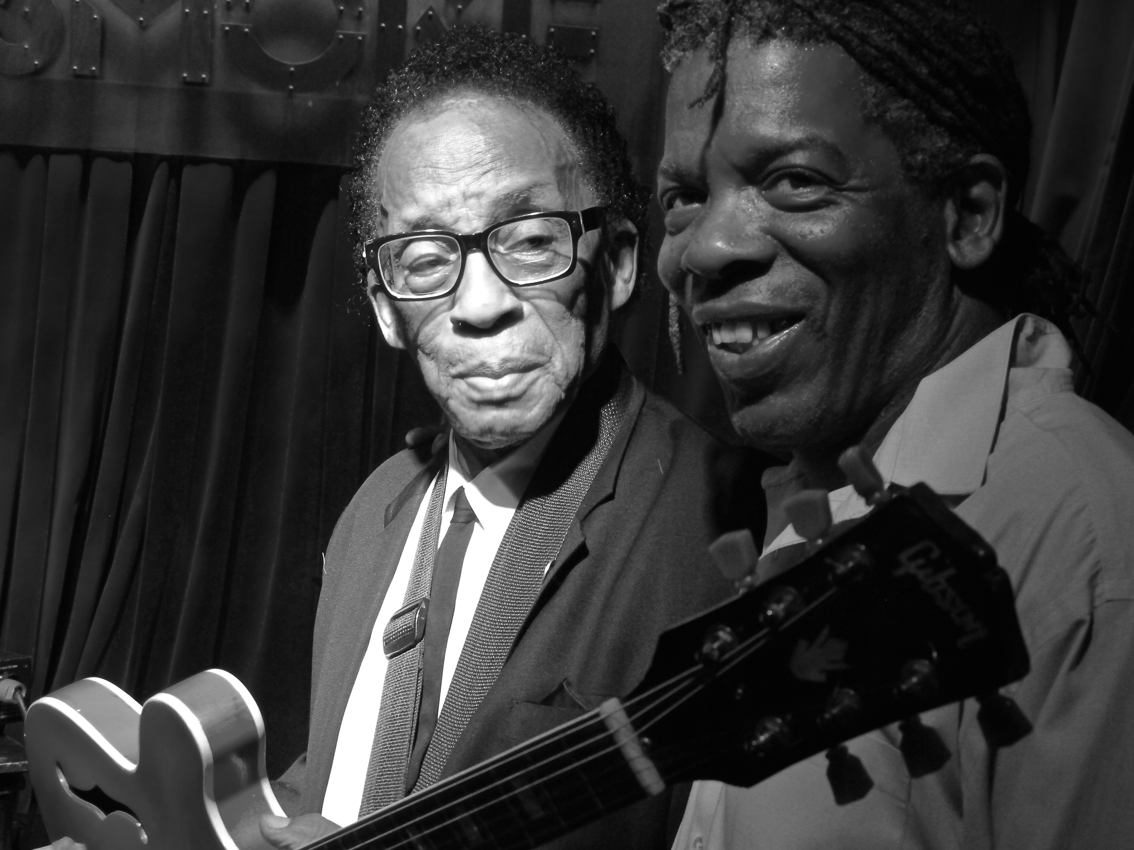 George Freeman and Mark - Photo by Laurence Donohue-Greene