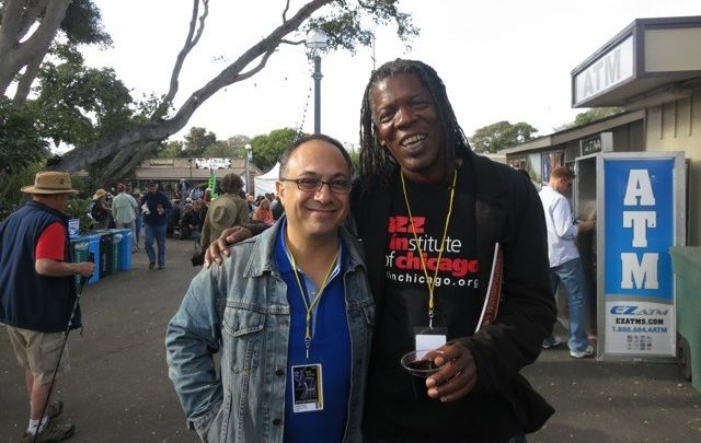 Mark and 2015 Grammy Winner Ashley Kahn