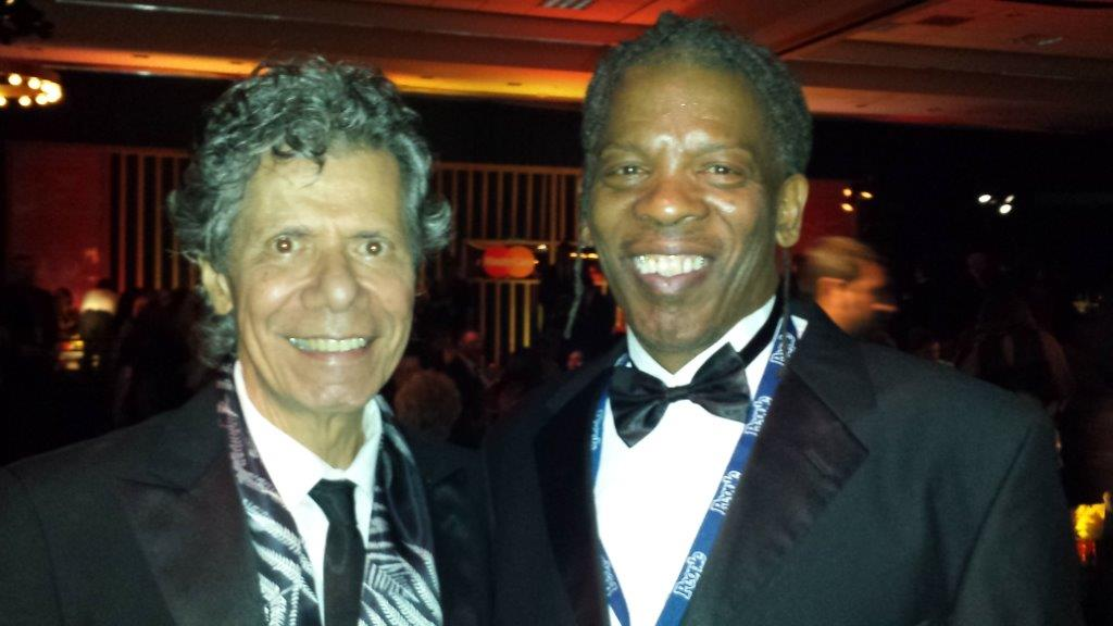 Mark at the Grammys with Chick Corea