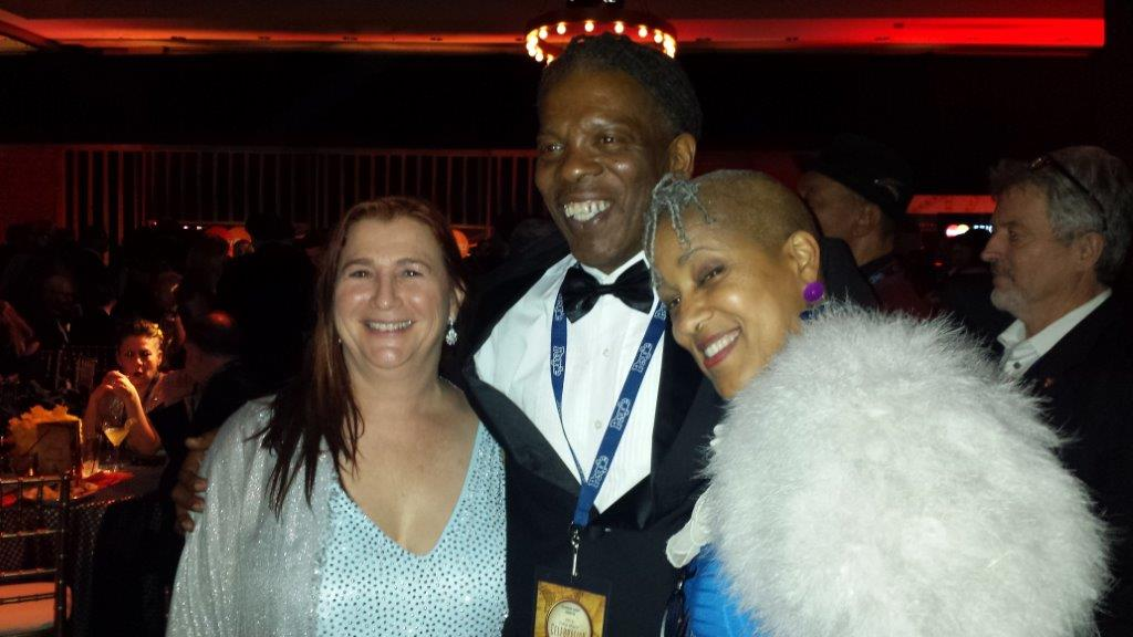 Mark at the Grammys with Jana Herzen and Rene Marie