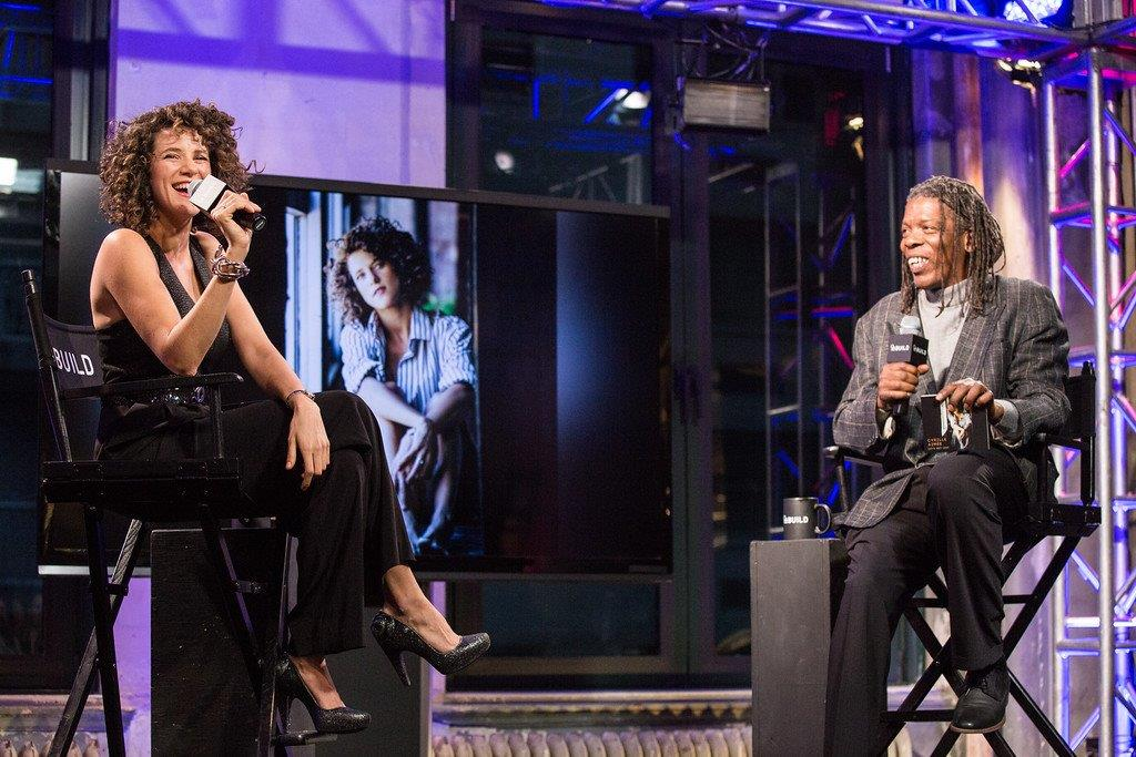 Mark with Cyrille Aimee on AOL Build