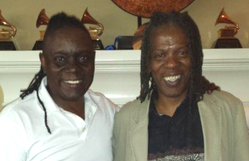 Philip Bailey and Mark