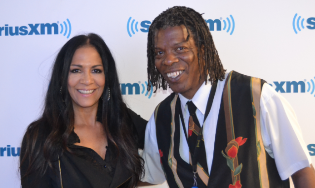Sheila E and Mark