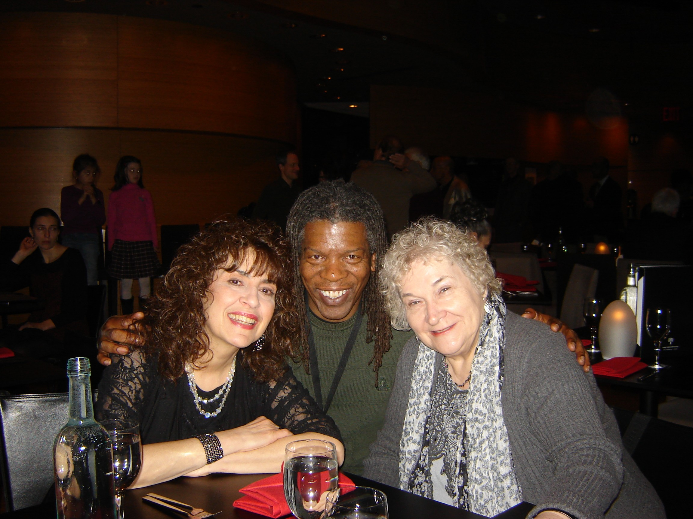 joanie pallatto mark ruffin and judy mayo at dizzys club