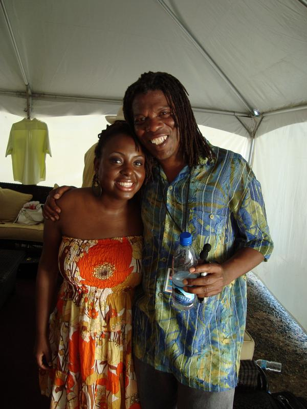 Ledisi and Mark in St. Lucia