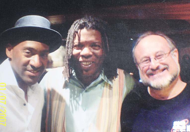 Marcus Miller with Mark and Neil Tesser