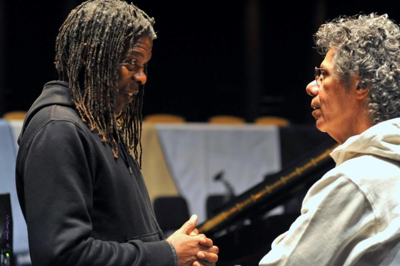 Mark and Chick Corea