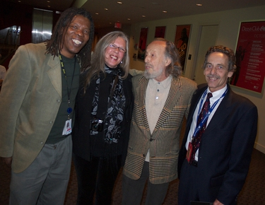 Mark and Kris King with  Herman Leonard and Scott Thompson