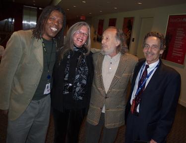 Mark and Kris King with  Herman Leonard and Scott Thompson