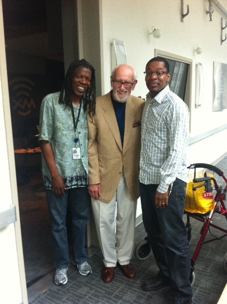 Mark with Bruce Lundvall and Ravi Coltrane