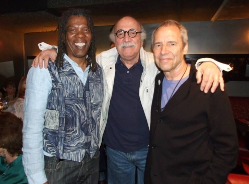 Mark with Tommy Lipuma and Ben Sidran